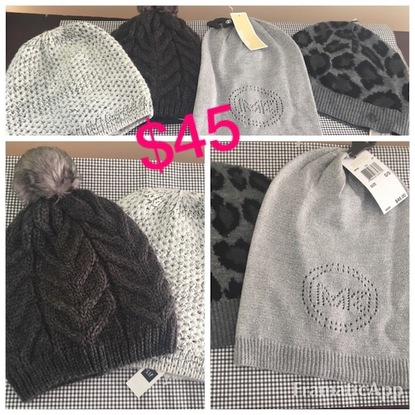 70a37a314ca25 Used Assorted knit caps   winter hats (Designer) for sale in Derry ...