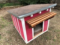 Homeade air-conditioned doghouse, paint job included 1162 mi
