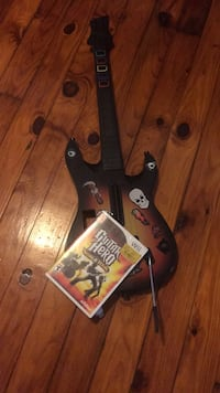 WII Guitar hero with disc Cranford, 07016