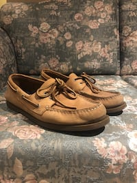 Brown Sperry Boat Shoes