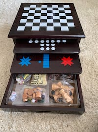 Wooden Game Ctr