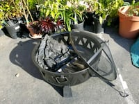 Fire pit, never used, comes with poker & cover San Jose, 95126