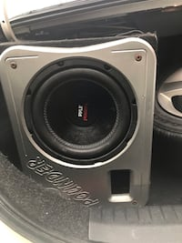 Sub amp and stock deck London