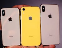 X to XS MAX XS XR IPHONES