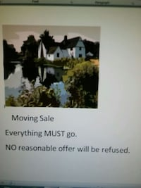 Moving Everything Must Go Make a reasonable offer  Zanesville, 43701