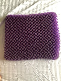 Seat cushion for car - Purple Germantown, 20876