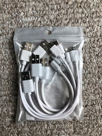 Brand new iPhone chargers 6-pack Tampa, 33609