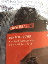 Universal 55 in. grill cover pack Stafford, 22556