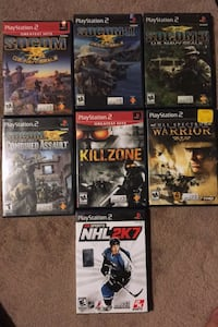 Selling all PS2 games Toronto, M9V