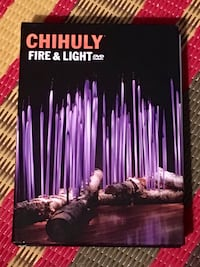 Chihuly Fire and Light DVD/book