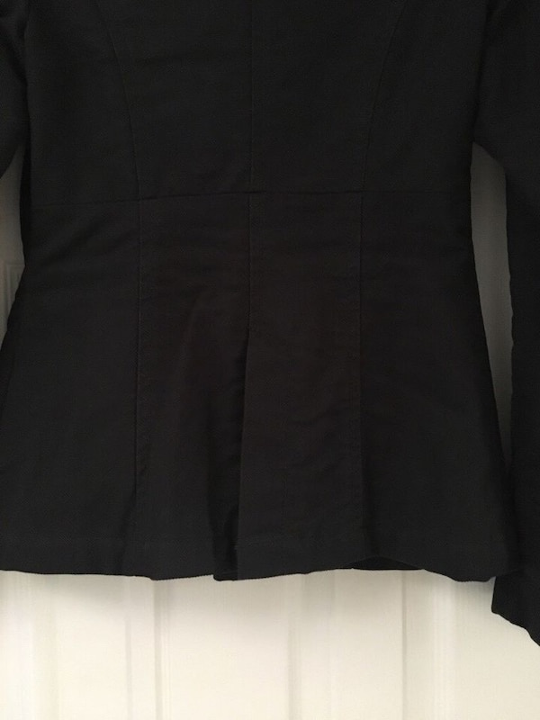 Women's Black Diesel Coat 3