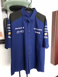 Volvo racing shirt BTCC Tom Walkinshaw Racing team Euro vintage rare!