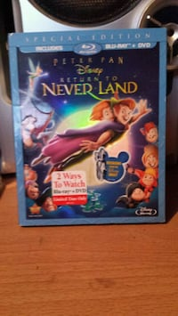 Return to Neverland Blu Ray Kelowna, V1Y 6V7