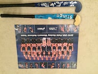 2010 USA Field Hockey Autographed Poster and sticks  Centreville, 20121