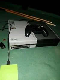 black Xbox One console with controller Houston, 77038