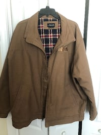 Brown Canvas Coat