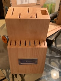 Cuisinart 13 slot wood knife block Slidell, 70458