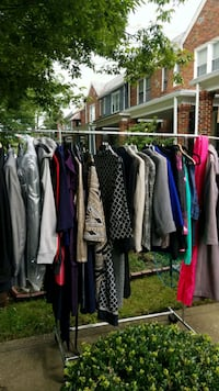 YARD SALE-MEN AND WOMENS FASHIONS
