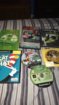 six assorted Xbox 360 game cases Columbus, 31907