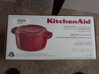 6 Quart KitchenAid® Professional Cast Iron Casserole with Lid. Sarnia, N7T 6N1