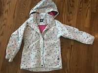 North End Polka Dot Rain Youth Jacket - European Size 134/140 - Girls Size 10 -Like New- 83rd K7 XP Lenexa, 66227