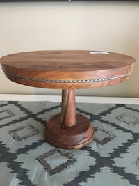 Wooden cake stand, brand new with tags Hamilton, L0R 1C0