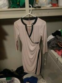 Coral pink and black long-sleeved dress Jefferson City, 37760