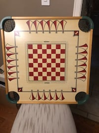 CARROM DOUBLE SIDED BOARD GAME