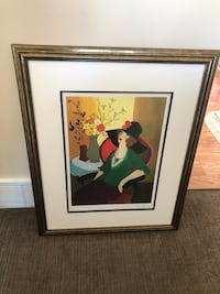 """Price negotiable!  Itzchak Tarkay painting called """"HAPPY RECOLLECTION"""""""