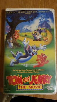 Tom and Jerry The Movie DVD case Lawton, 73505