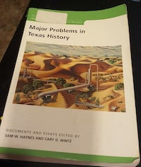 College Texas History Book