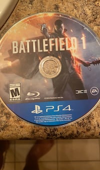 Battlefield 1 no case works fine