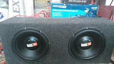 """2-10"""" JBL Subwoofers and box"""