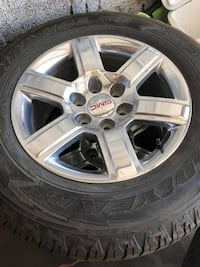GMC rims 18 new tires  Roswell, 88203