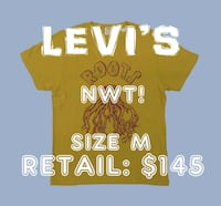 NWT! $145 *Levi's* Made in Portugal T-shirt Size M Toronto