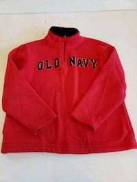 red and black Old Navy long-sleeved shirt Sterling, 20164
