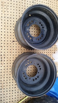 Two Yamaha ATV steel rims. Universal lug pattern Freehold township, 07728