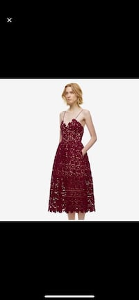 New Burgundy Lace Dress -Small Mississauga