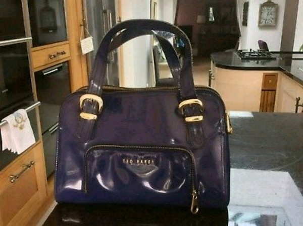 7021ef5db Used Ted Baker Handbag Blue for sale in Leicester - letgo