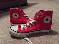 Red high top converse sneakers Mount Airy, 21771