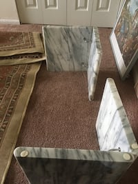 Glass and marble coffee table Alexandria, 22309