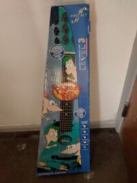Phineas and Ferb acoustic guitar