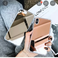 New rose gold mirror iPhone XS Max case Waterloo, N2T 2Y7