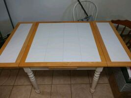 Ceramic Top Kitchen Table