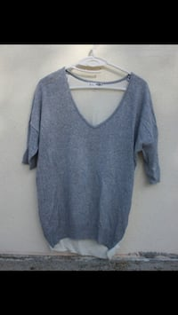 Pull fin manches chauves souris  Chauray, 79180
