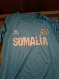 blue and white Adidas Somalia t-shirt Edmonton, T5A