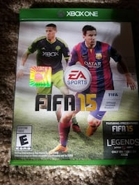 Fifa 15 Xbox One game case Norfolk, 23513