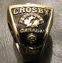 Sidney Crosby 2010 Vancouver Olympics Gold Medal Ring Vancouver