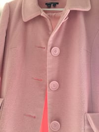 Pink ladies wool coat. Size L. Like new condition Mississauga, L5K