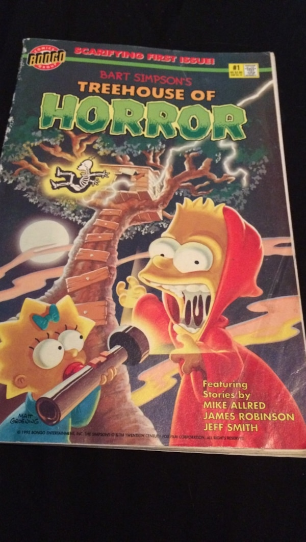 The Simpsons Treehouse Of Horror Dvd